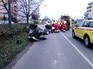 Řidič čtyřkolky překročil rychlost na měřeném úseku na Moravském Předměstí v...