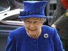 Britská královna Alžběta II. (29. listopadu 2013)