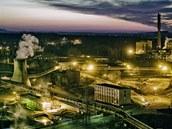 Třinecké železárny působí na fotografiích jako magické místo s jedinečným
