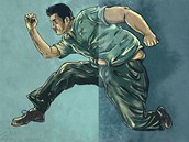 Z obézního lenošivého muže se stal čtenář Rungo.cz mužem se sportovní postavou.
