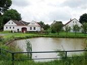 Usedlost Lápkových ve Vřescích na Táborsku.