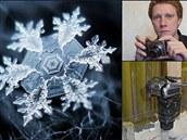 Galerie: Jak fotoamatér Alexej Kljatov fotí sněhové vločky
