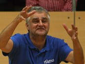 Trenér zlínských volejbalist� Roman Macek