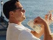 Leonardo DiCaprio ve filmu Vlk z Wall Street