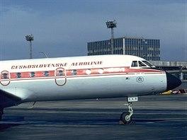 Třímotorové proudové stroje Jakovlev Jak-40 nahrazovaly od roku 1974 na...