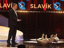 Český slavík 2013: Jan Kraus a jeho husokachny
