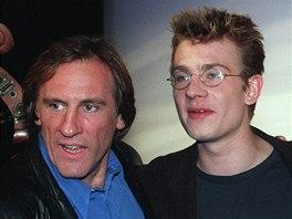 Gérard Depardieu se svým synem Guillaumem