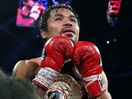 Manny Pacquiao je znovu boxerským mistrem světa