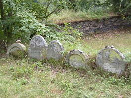 Židovský hřbitov, Rabštejn nad Střelou