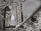 Ve Špindlerově Mlýně se zřítila s pěti lidmi nákladní lanovka, která patří k