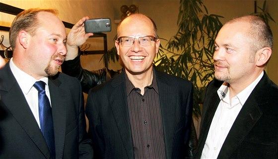 Jeroným Tejc, Bohuslav Sobotka a Michal Hašek