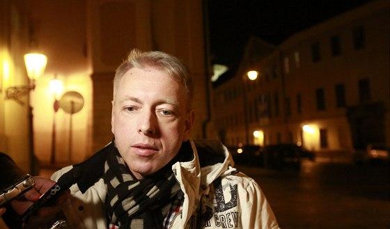 Místopředseda ČSSD Milan Chovanec před večerním jednáním o vládě s lidovci a...