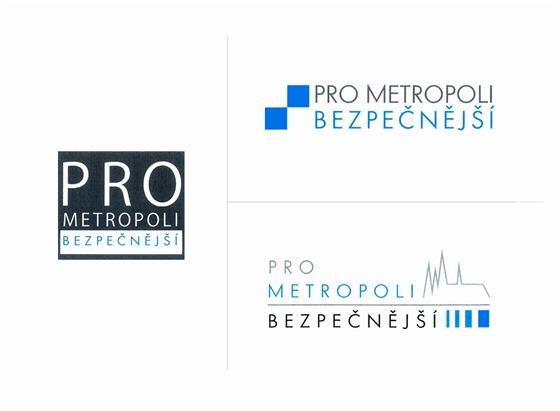 Tři varianty nového loga Městské policie Praha