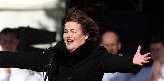 Susan Boyle se splnil sen poté, co zazpívala papeži