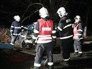 Noční smrtelná dopravní nehoda u Konopiště (5.12.2013)