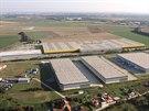 Obří sklad firmy Amazon by u Dobrovíze mohl být postaven do září 2014
