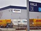 Společnost Amazon už u Dobrovíze jednu menší halu provozuje
