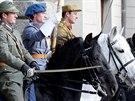 Oslava 95. výročí vzniku Hradní stráže se nesla v duchu přehlídky historických...