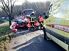 Smrtelná dopravní nehoda u Břežan na Znojemsku