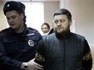 Jurij Zaruckij přichází k soudu (3. prosince)