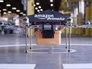 Amazon testuje létající drony. Stroje, které trochu připomínají helikoptéru...
