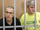Ve sv�m druh�m procesu byl Chodorkovskij odsouzen s b�val�m mana�erem Jukosu...