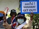 Thajci kritizují premiérku kvůli vlivu, který údajně na vládu stále má její...