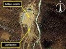 Satelitn� sn�mky severokorejsk�ho pracovn�ho t�boru (b�ezen 2011 a �nor 2012)