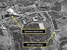 Satelitn� sn�mek severokorejsk�ho pracovn�ho t�boru (listopad 2012)