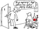 Kreslen� vtip z �asopisu Sorry