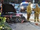 Herec Paul Walker zem�el p�i automobilov� nehod� u Los Angeles v Kalifornii (30. listopadu 2013).