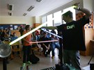 Scéna jak z Hvězdných válek žáky čakovické školy velmi potěšila (3. prosince
