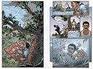 Ukázka z první kapitoly komiksu Zámek a klíč: Hlavohrátky.