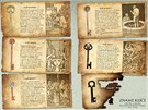 Jaké typy klíčů existují? Ukázka z komiksu Zámek a klíč: Hlavohrátky.