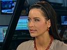 Redaktorka ČT24 Alexandra Nosková