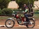 Povstalci z hnutí Séléka v Bangui.