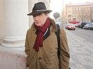 David Rath poprvé přišel k soudu bez eskorty (úterý 3. prosince 2013).