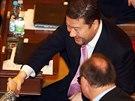 Nikoli gratulace, ale jen pozdrav od kolegyně. Tomio Okamura ani ve druhé volbě...