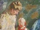 Ludv�k Kuba, V zelen�m pokoji, 1906