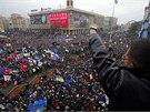 Protesty na kyjevském Náměstí nezávislosti (1. 12. 2013)