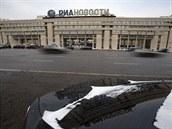 Sídlo tiskové agentury RIA Novosti v Moskvě