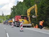 První rok opravy dálnice D1.