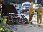 Herec Paul Walker zem�el p�i automobilov� nehod� u Los Angeles v Kalifornii