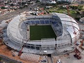 NATAL Arena Das Dunas ve městě Natal.