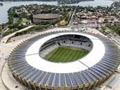 BELO HORIZONTE Mineirao stadium ve m�st� Belo Horizonte.