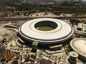 MARACAN� Slavn� stadion Maracan� v Rio de Janeiru bude hostit fin�le.