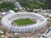 PORTO ALEGRE Arena Beira Rio stadium ve m�st� Porto Alegre.