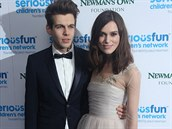 Keira Knightley a její man�el James Righton (3. prosince 2013)