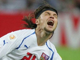 Tomáš Ujfaluši. PŘI semifinále EURO 2004 - Česko vs. Řecko.