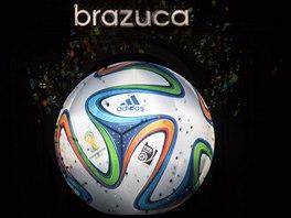 BRAZUCA Míč pro mistrovství světa 2014, stejně jako předchozí balony pro...